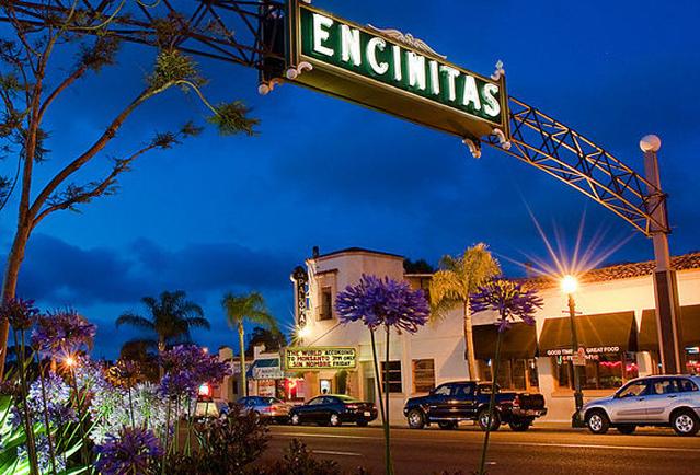 Encinitas sign in CA
