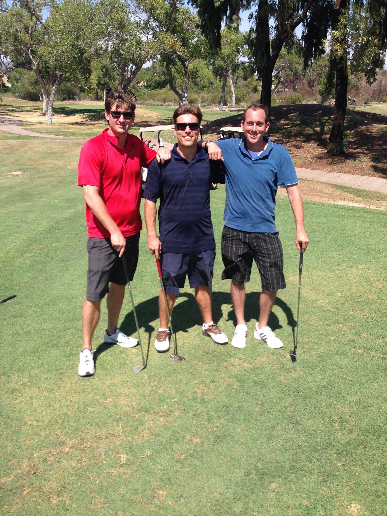 San Diego Sober Living Golf Day